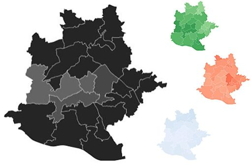 Wie schwarz, grün, rot, blau ist Stuttgart?