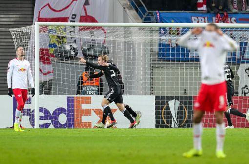 Trondheim schockt Leipzig kurz vor dem Schlusspfiff