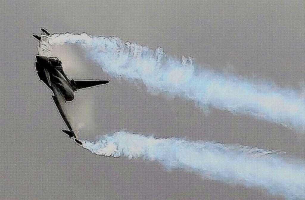 Der Eurofighter wird von EADS und BAE gemeinsam produziert. Foto: dapd