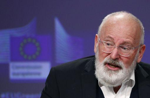 Timmermans ist die Reform nicht grün genug