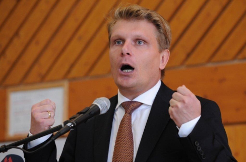 Thomas Bareiß ist für weitere zwei Jahre Vorsitzender der CDU Württemberg-Hohenzollern. Foto: dpa