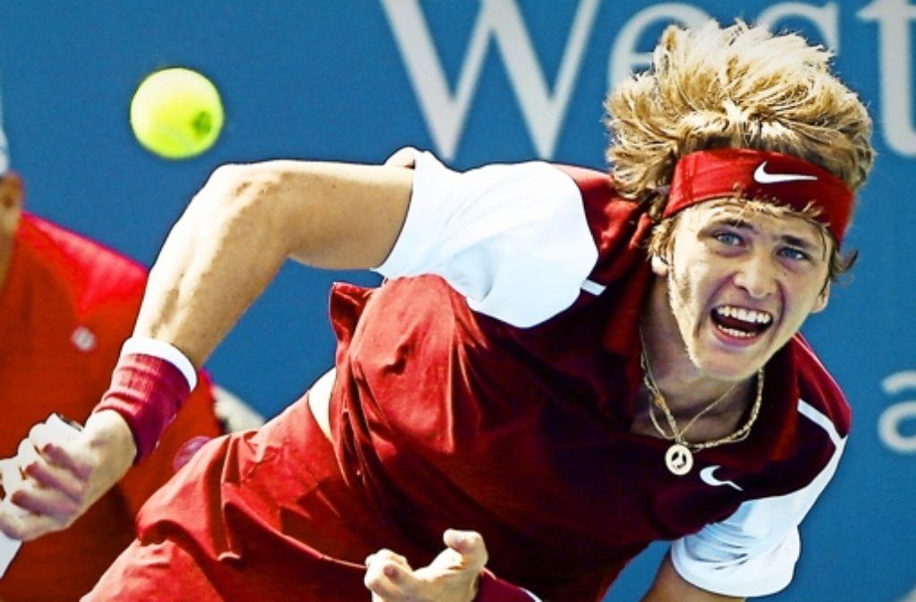 Der Hamburger Tennis-Profi Alexander Zverev ist mit  Talent  gesegnet. Foto: dpa
