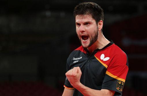 Ganz stark! Tischtennis-Männer spielen um Gold