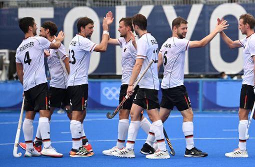 Deutsche Hockey-Herren mit Kantersieg