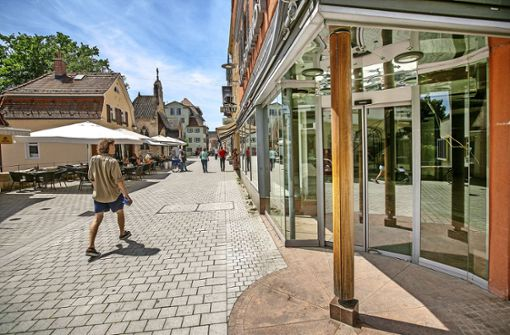 So will Esslingen den Einzelhandel stärken