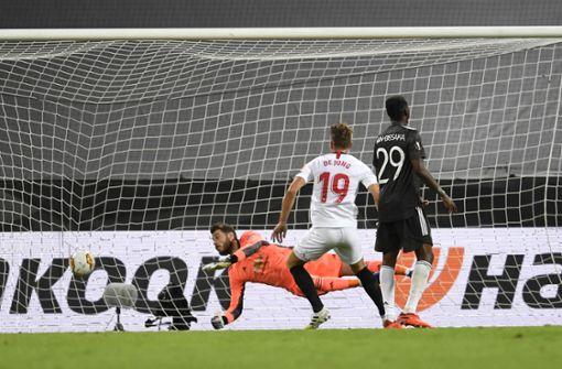 FC  Sevilla nach Sieg gegen Manchester United im Finale