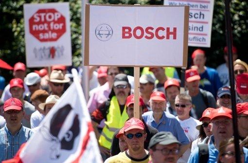 Der Verkauf hat für Bosch Priorität