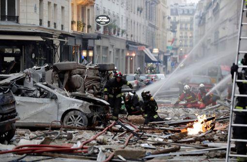 Verwüstung in Paris - Tote und Verletzte nach Explosion