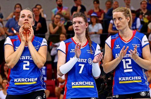 Stuttgarter Volleyballerinnen fühlen sich verschaukelt