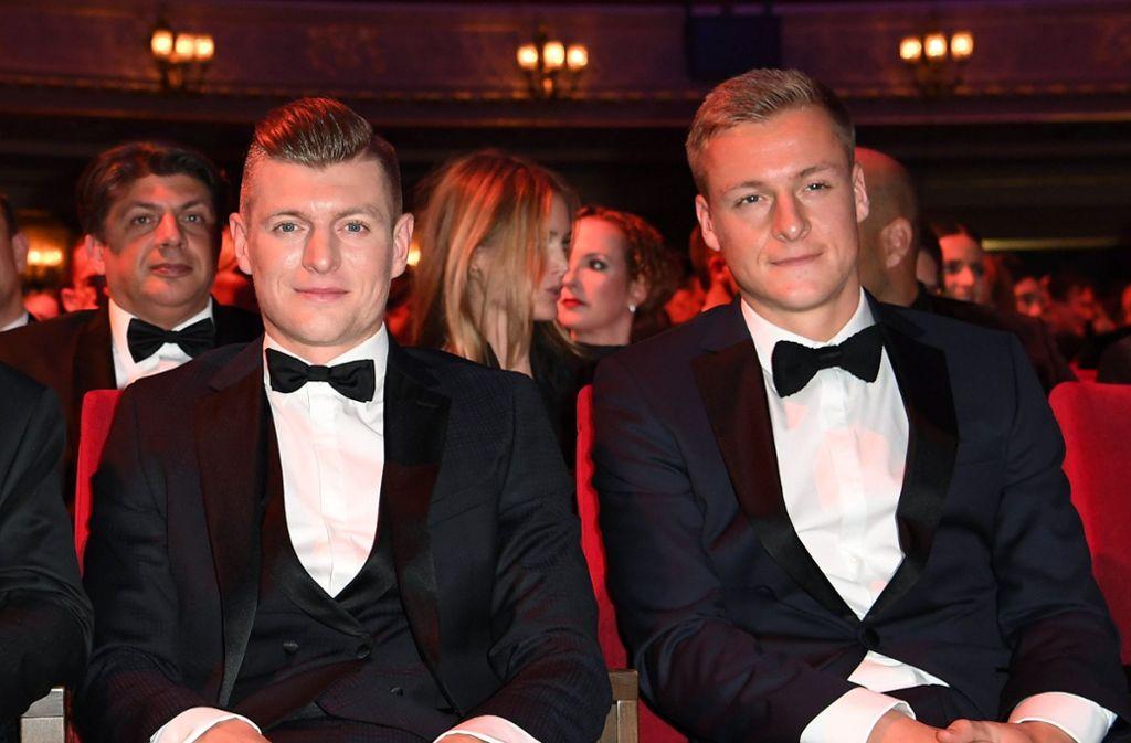 Zwei Brüder, eine Meinung? Toni (links) und Felix Kroos starten einen eigenen Podast. Foto: dpa/Britta Pedersen