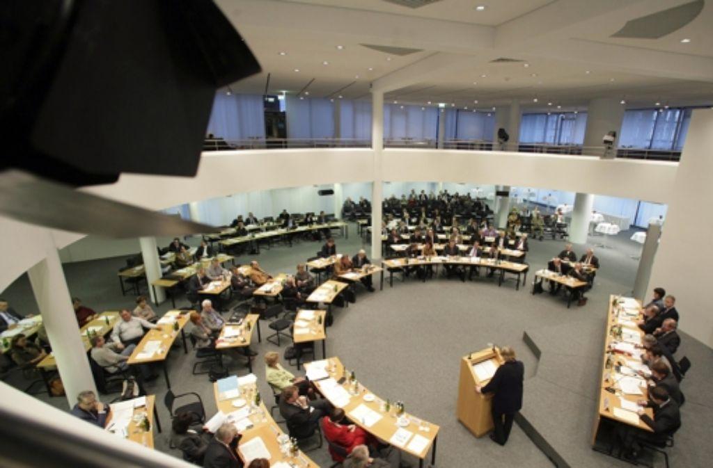 Die Regionalversammlung hat den Haushalt für 2015 verabschiedet. Foto: Achim Zweygarth