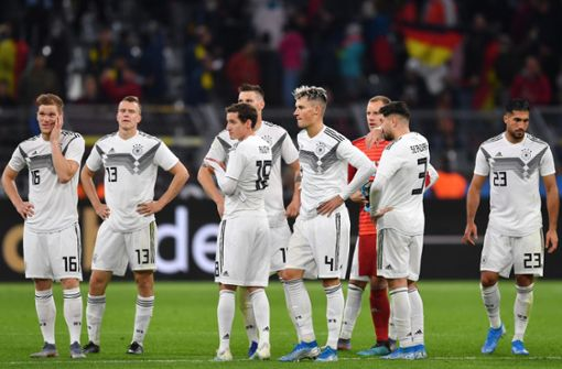 """""""Das deutsche Team gerät aus dem Tritt"""""""