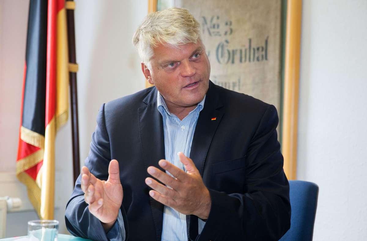 Seit 19 Jahren im Bundestag. 2021 zieht er erneut in den Wahlkampf: Markus Grübel. Foto: /Ines Rudel