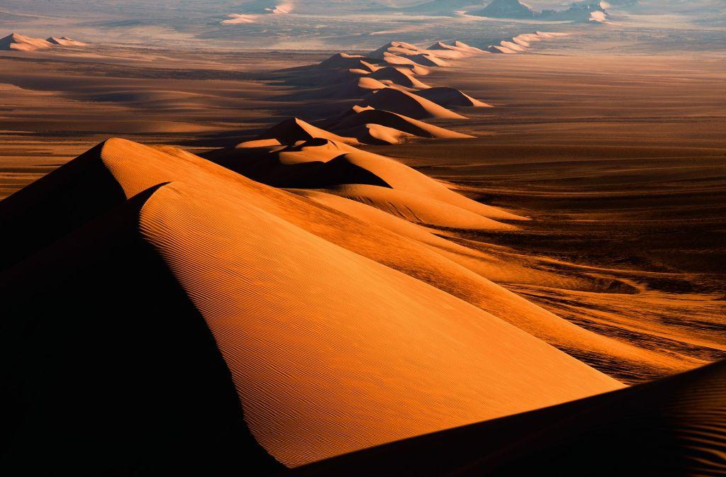 Michael Martin fotografiert Sand- und Eiswüsten, so wie hier in der Antarktis. Eine Auswahl seiner Bilder zeigen wir in der Fotostrecke. Foto: Michael Martin