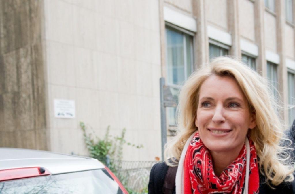 Maria Furtwängler und ihr Mann Hubert Burda mussten im Wulff-Prozess als Zeugen aussagen. Foto: dpa