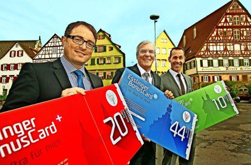 Der Esslinger Bonus-Card droht das Aus