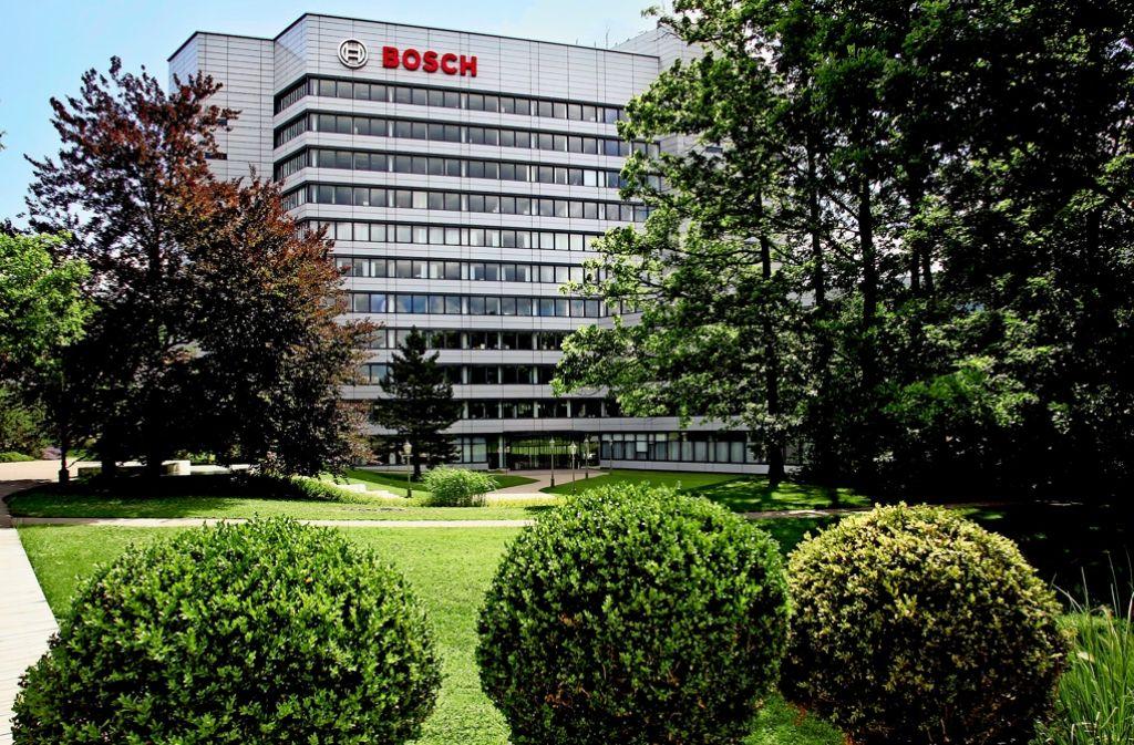 Am Hauptsitz von Bosch auf der Gerlinger Schillerhöhe wird bald umgebaut. Foto: