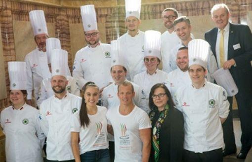 Köche der ganzen Welt kommen zum Wettkampf nach Stuttgart