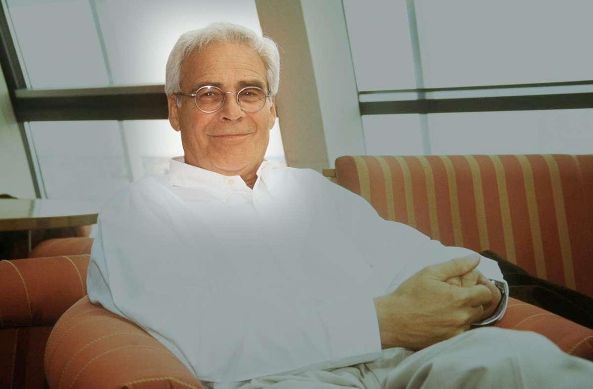 Der Schauspieler Karl-Heinz Vosgerau, bekannt aus vielen Fernsehfilmen und Serie Foto: Imago