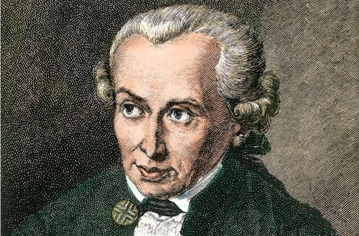 """Hatte Immanuel Kant nur die  """"Race der Weißen"""" im Blick? Handkolorierter Holzschnitt einer Illustration aus dem 19. Jahrhundert. Foto: epd/akg / North Wind Picture Archive"""