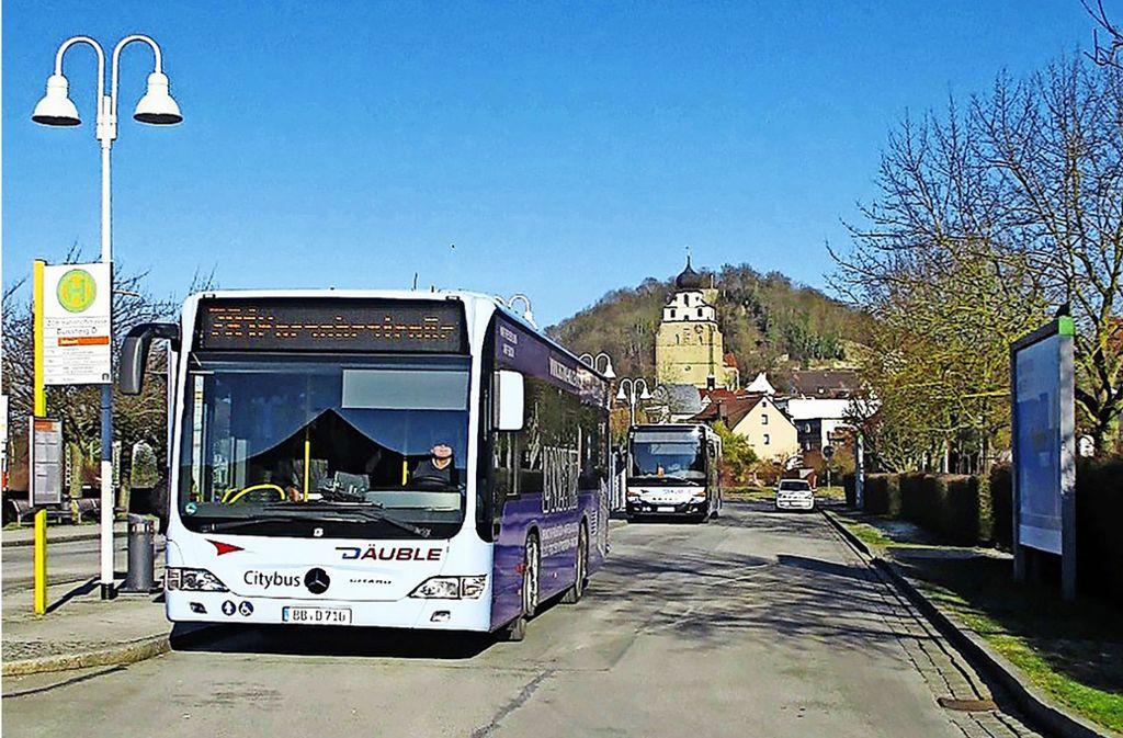 Dank eines Modellversuchs ist das Busfahren in Herrenberg schon jetzt günstiger als anderswo. Aber soll es wirklich gleich ganz kostenlos sein? Foto: Fabian Kienle