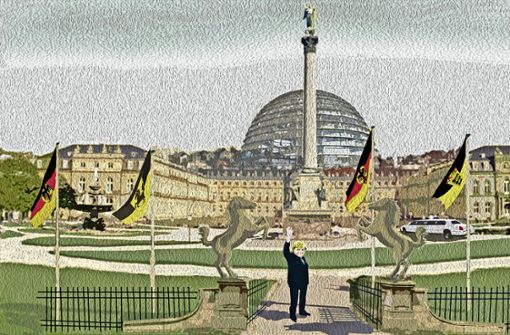 Der Reichstag im Neuen  Schloss