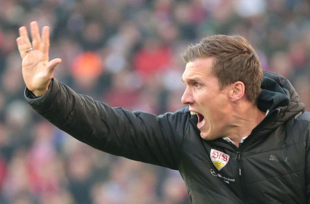 Mit dem VfB Stuttgart ist Hannes Wolf aufgestiegen, nun will er mit dem Hamburger SV nach oben. Foto: Baumann