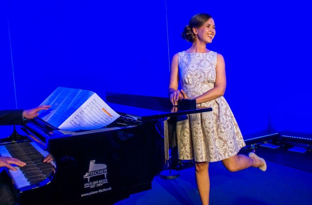 Elisabeth Hübert ist die  Mary Poppins von Stuttgart. Foto: SDMG