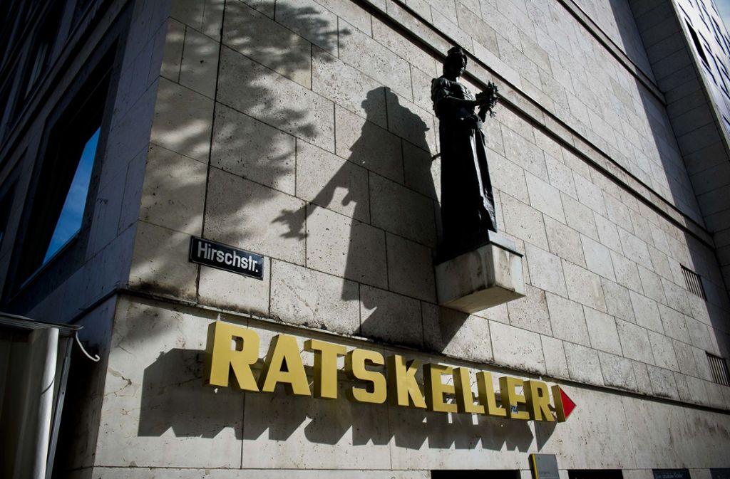 Ratskeller in Stuttgart Foto: Lichtgut/Max Kovalenko