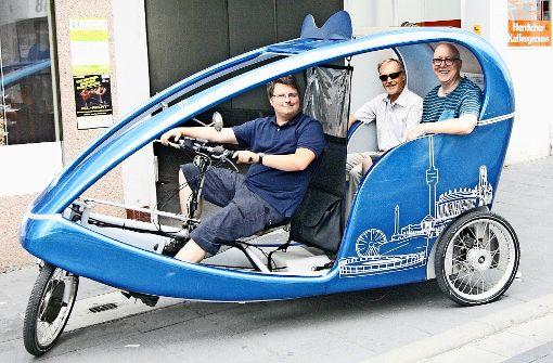 Mobilitätskonzept auf drei Rädern