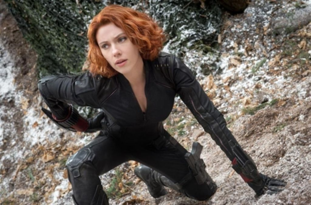 Scarlett Johansson macht als Black Widow wieder mal eine gute Figur. Foto: Walt Disney