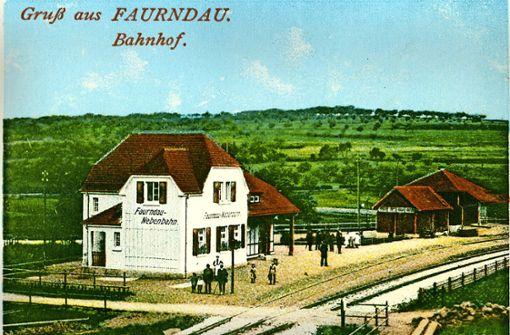 Im alten Faurndauer Bahnhof geht es ums Aussehen
