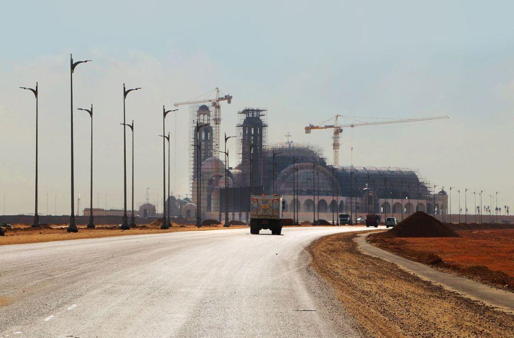 In der Nähe Kairos  entsteht die größte Kirche des Nahen und Mittleren Ostens. Foto: Spanhel