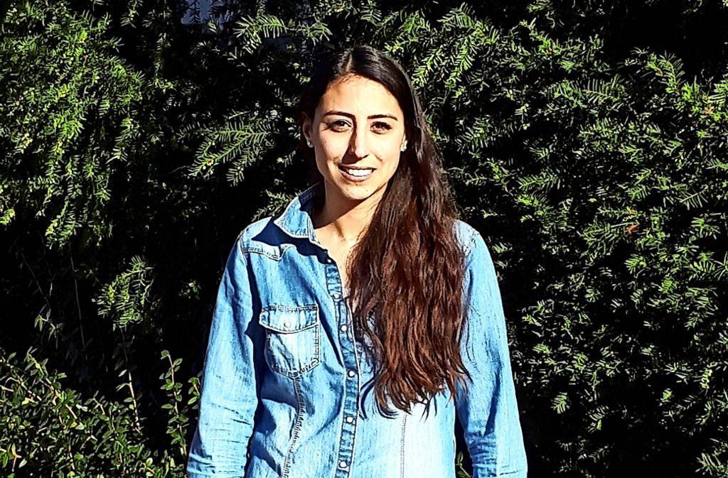 Milena Bockstahler freut sich über ihren Erfolg. Foto: Alale Sarshar Fard