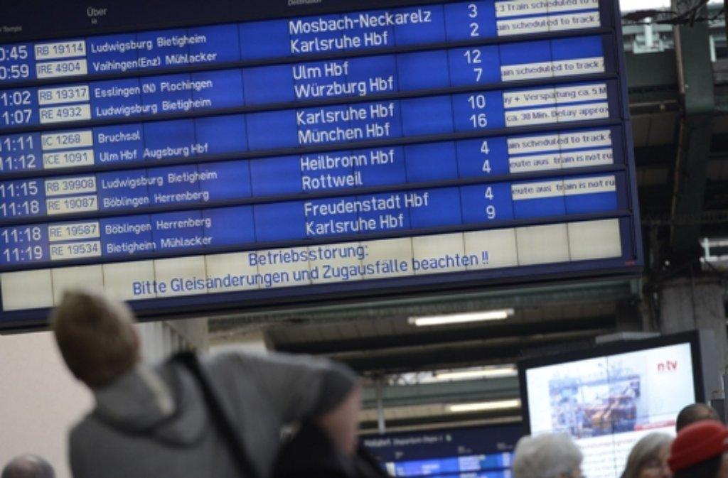 Nach der Zugentgleisung am vergangenen Dienstag war der Hauptbahnhof nur eingeschränkt anfahrbar. Ab Mittwoch normalisiert sich der Verkehr.  Foto: 7aktuell.de/Eyb