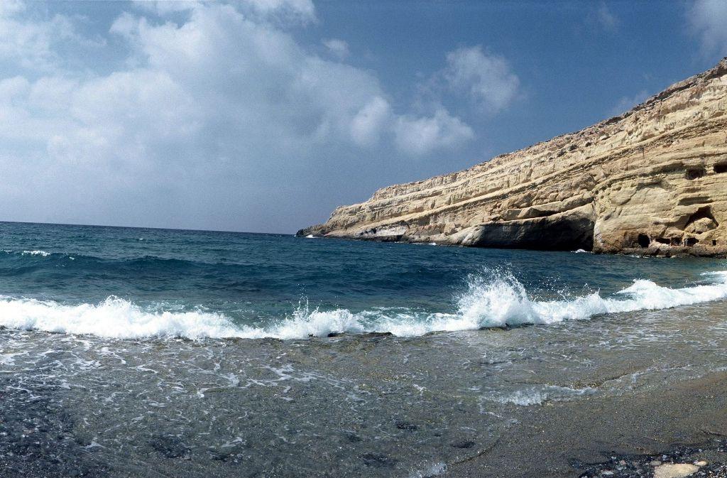 Eine Küste von Kreta wurde für ein Ehepaar zur tödlichen Falle. Foto: dpa/Symbolbild