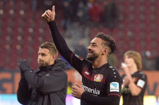 50.000. Liga-Tor leitet Bayer-Sieg gegen Augsburg ein