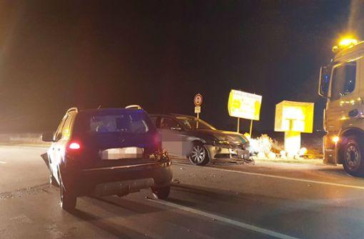 Zwei Verletzte bei Unfall auf L1141