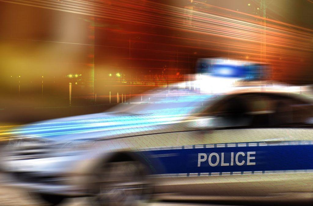 Eine Polizeistreife bei der Fahrt (Symbolfoto). Foto: Pixabay/geralt