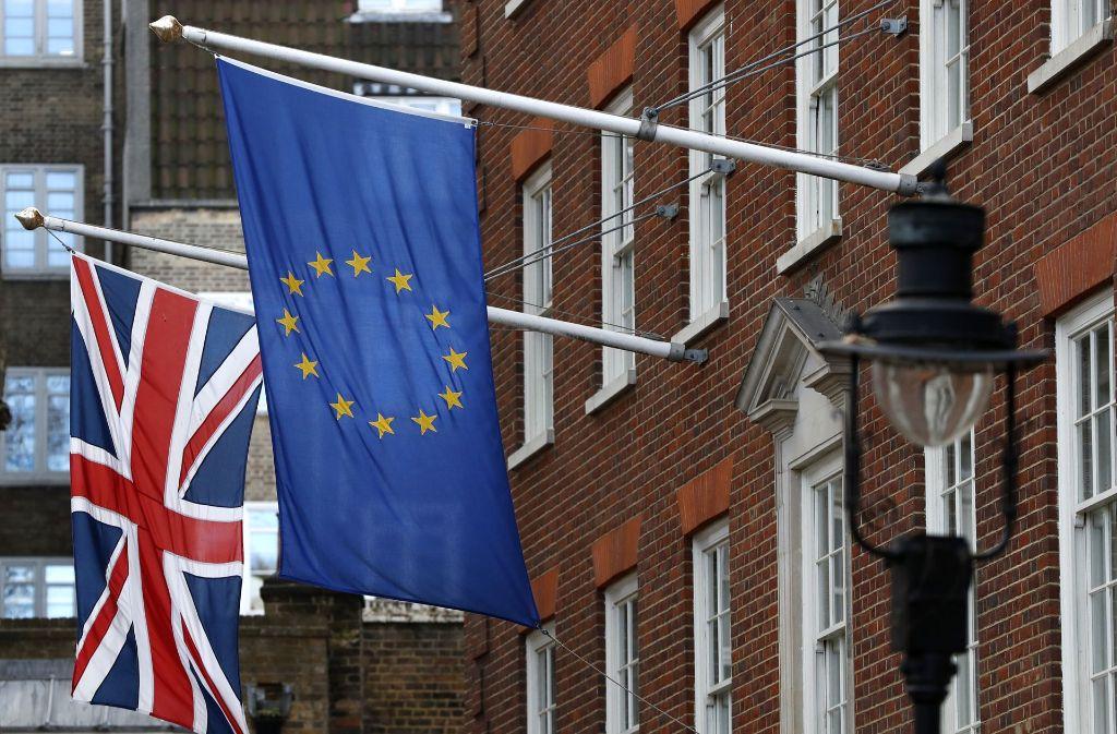 Die Briten wollen raus aus Europa. Foto: AP