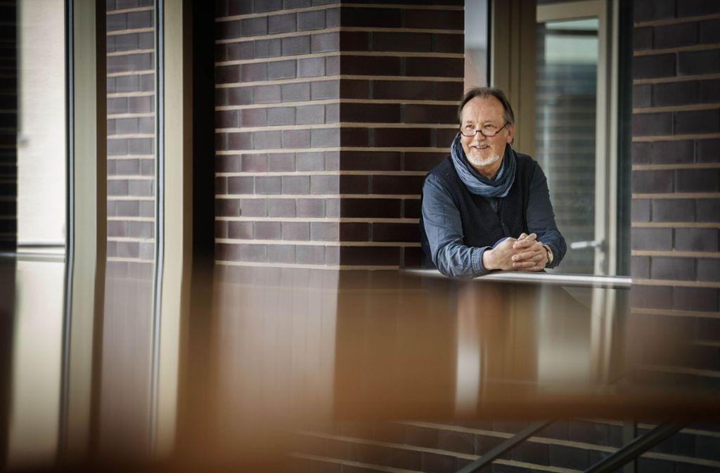 Hans-Dieter März geht in Rente. Zumindest bis in den Herbst – dann kümmert er sich um das Veranstaltungsprogramm in Schorndorf während der Gartenschau. Foto: Stoppel