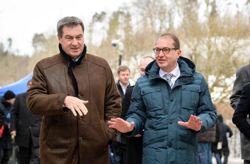 CSU will wieder konstruktive Zusammenarbeit mit CDU und SPD