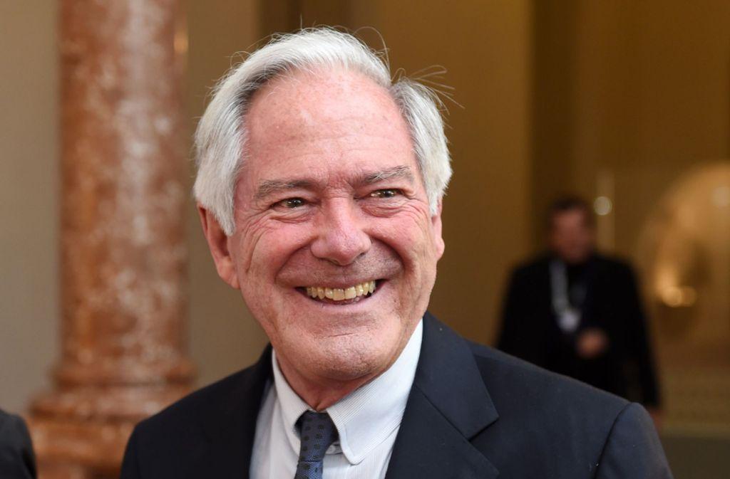 Der Unternehmer Roland Berger. Foto: dpa/Tobias Hase