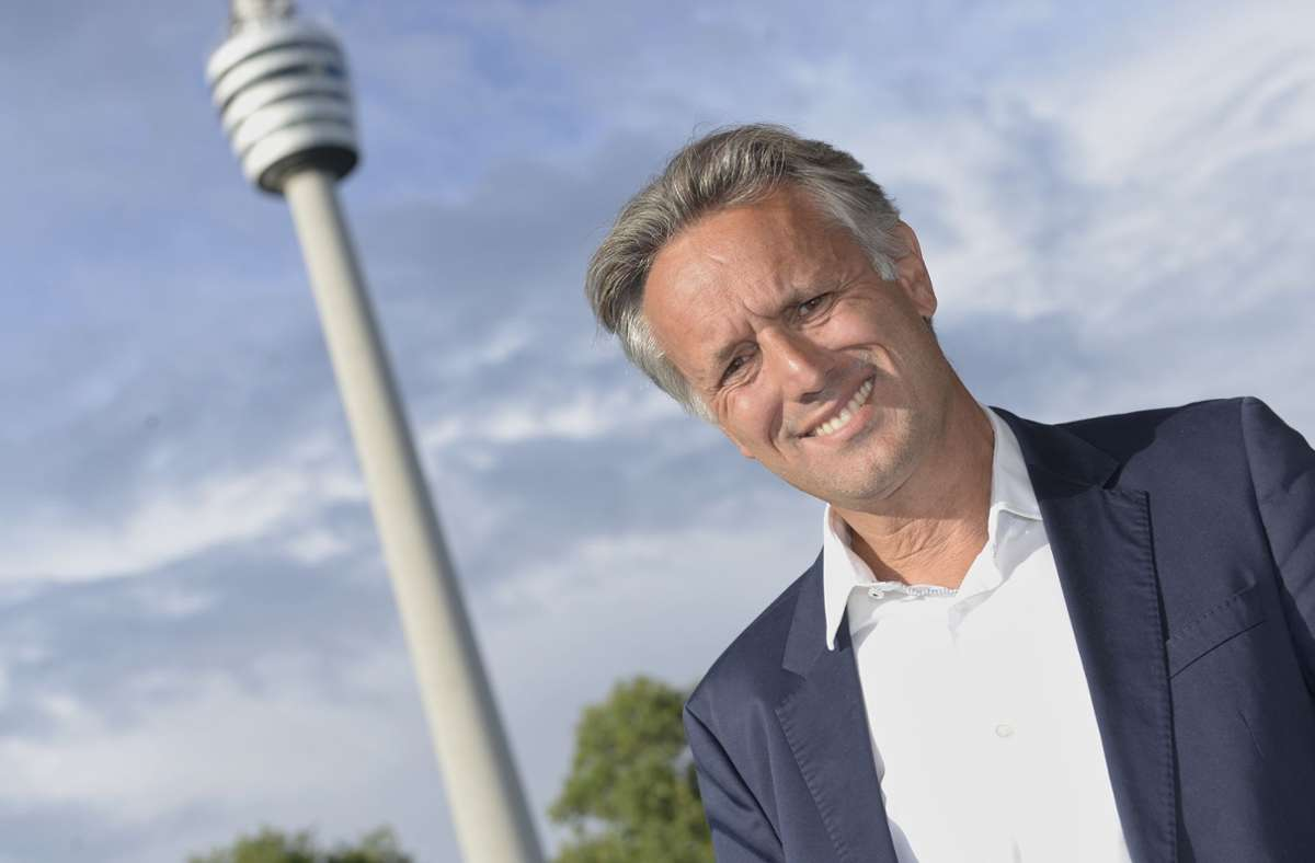 Übernahm vergangenen Juni den Aufsichtsratsvorsitz von Christian Dinkelacker: Alexander Lehmann, der seit 2010 dem Kontrollgremium der Stuttgarter Kickers angehört. Foto: Stuttgarter Kickers/Markus Schwarz