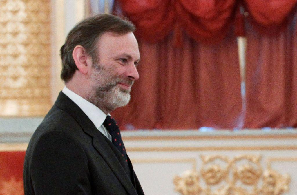 Tim Barrow (l.) soll Großbritannien bei der EU vertreten. Foto: POOL SPUTNIK KREMLIN