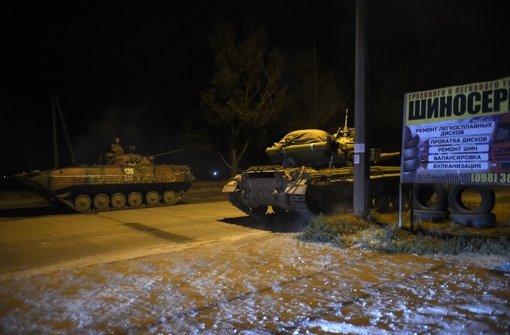 Explosionen nahe Mariupol