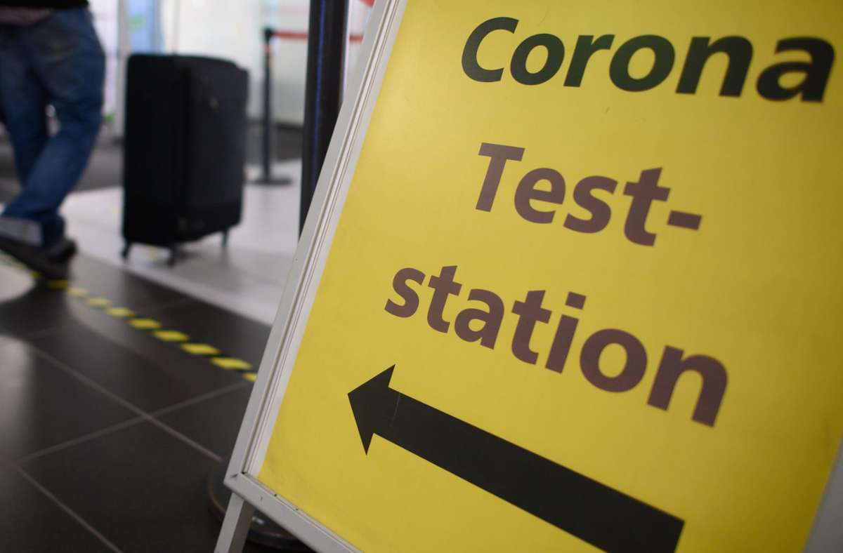 Corona-Test: Auch OB-Kandidat Martin Körner hat davon Gebrauch gemacht. Er ging dafür ins Katharinenhospital. Foto: dpa/Robert Michael