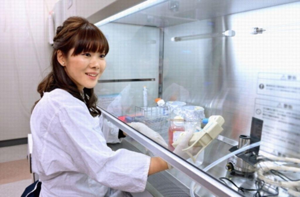 Die 30-jährige Stammzellforscherin Haruko Obokata Foto: The Asahi Shimbun/Getty Images