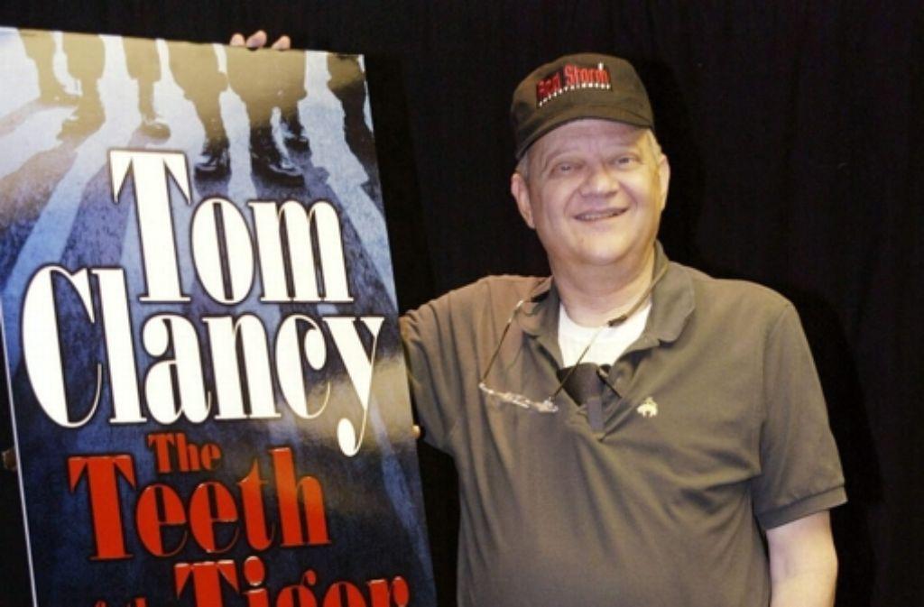 Tom Clancy hat sich um literarische Feinheiten wenig geschert: große Kassenerfolge prall voll mit Helden und Militärtechnik waren sein Metier. Foto: dpa