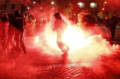 In Italien eskaliert die Gewalt